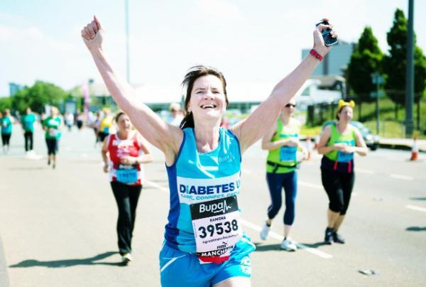 BOSS WOMAN Ramona completes the BUPA Great Manchester Run