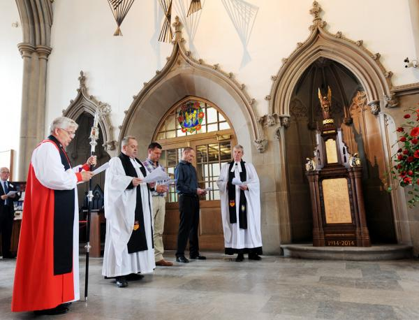 Soldiers remembered at Blackburn Cathedral