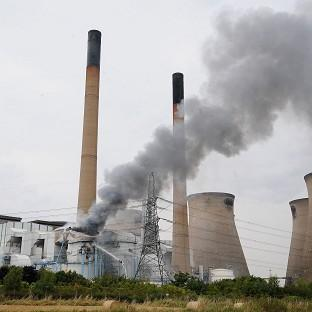 A fire at Ferrybridge power station is among the concerns relating to peak winter power output