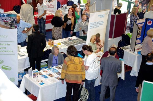 Fair chance to learn about healthy living at Leyland Health Mela