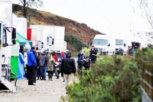 A-listers film Hollywood blockbuster at Rivington Pike
