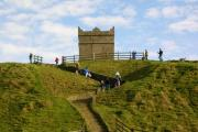 Rivington Pike illuminated to pay tribute to local heroes who lost their lives