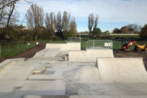 Skate park set to entertain youths