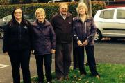 Samantha Hornsby and Adlington in Bloom Group members