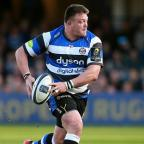 Chorley Citizen: Bath prop David Wilson, pictured, is England's latest injury concern ahead of next weekend's Six Nations opener in Wales