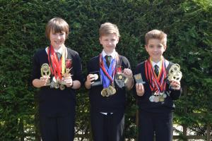 Top results for Holy Cross High School pupils
