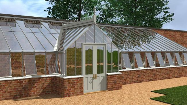 How the glasshouse will look
