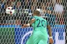 Portugal's Ricardo Quaresma scores the winner against Croatia