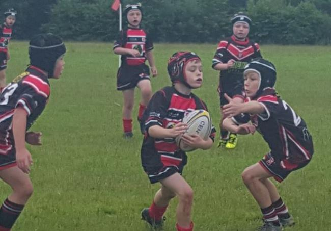 Leyland Warriors Under-8s attack