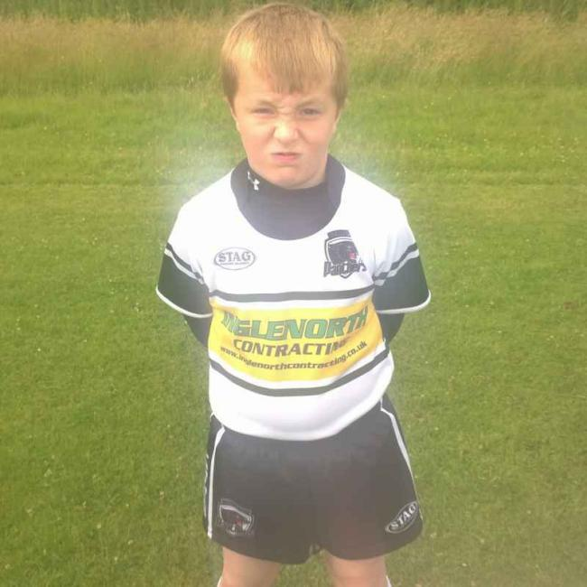 Chorley Panthers Under 9s player Ben Foster
