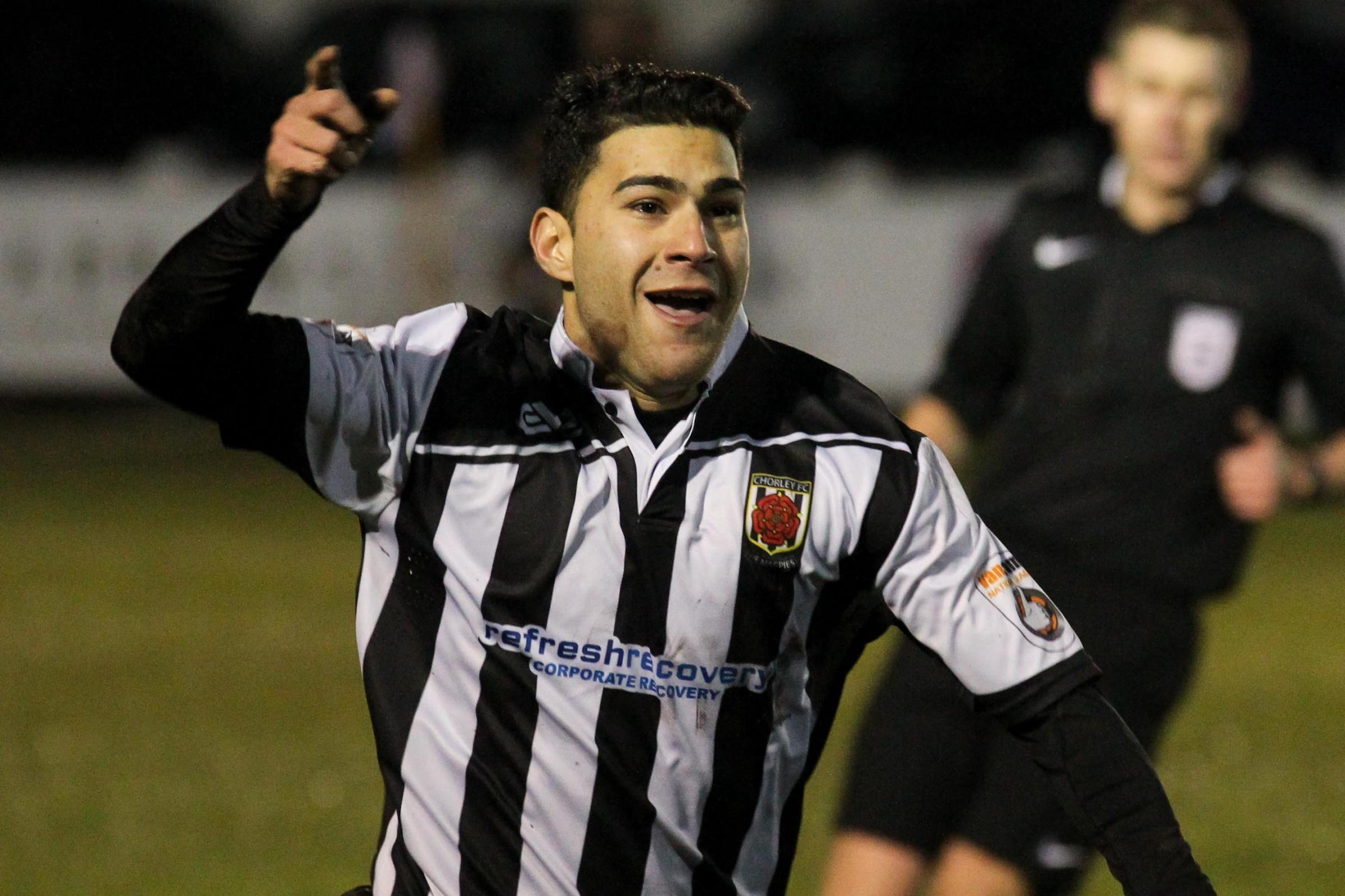 Alex Samizadeh was on target for the Magpies. Pic by Josh Vosper