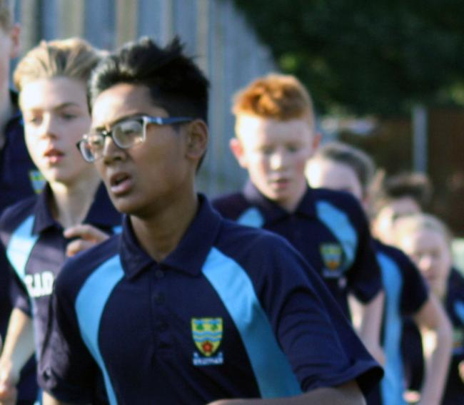 Albany pupils in action in championships