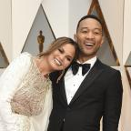 Chorley Citizen: John Legend and Chrissy Teigen were 'couple goals' on the Oscars red carpet