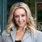 Chorley Citizen: Corrie's Catherine Tyldesley relishes soap 'scrap' with Kym Marsh