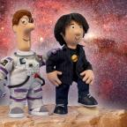 Chorley Citizen: Professor Brian Cox makes space for role in Postman Pat