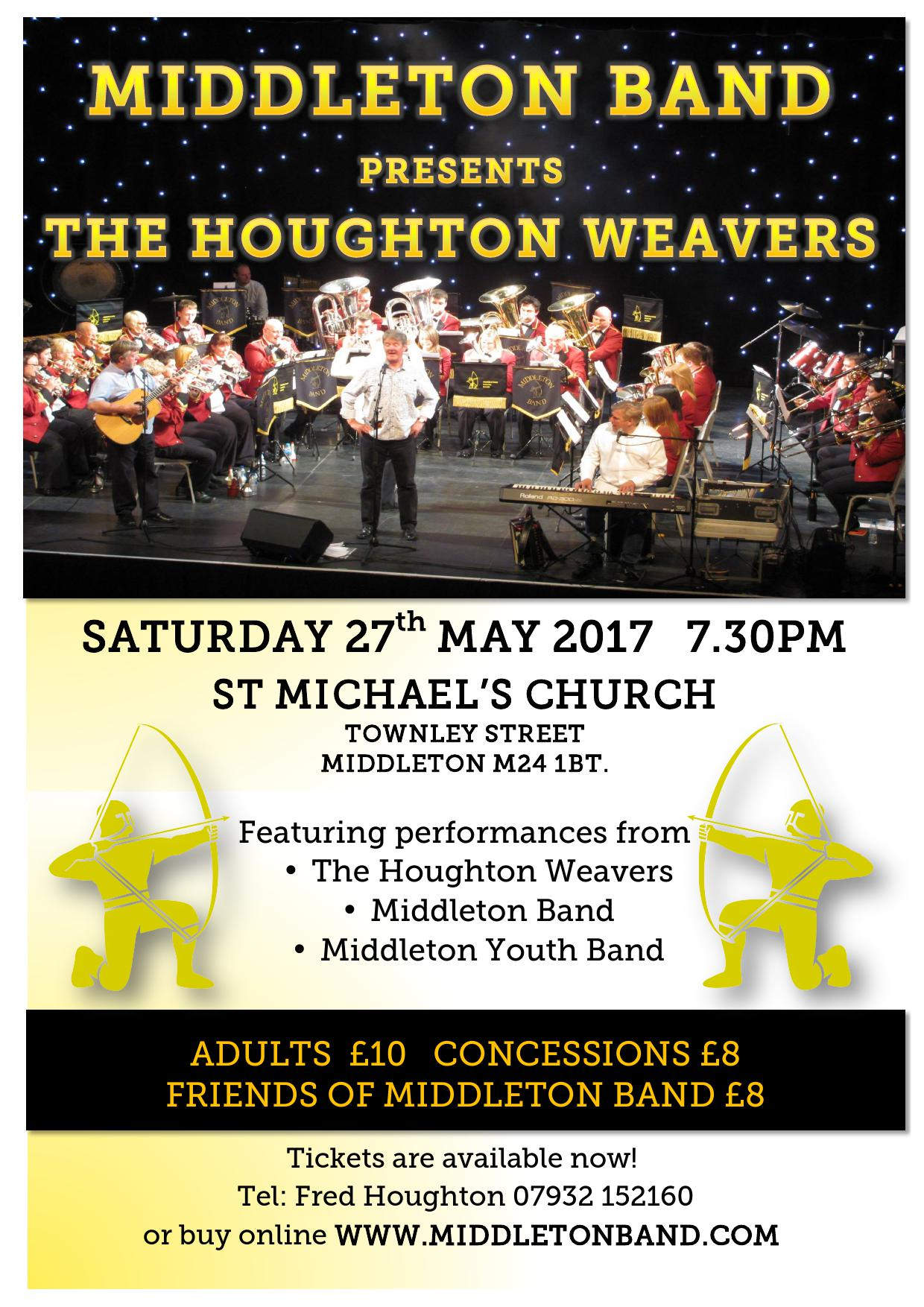Middleton Band Presents The Houghton Weavers