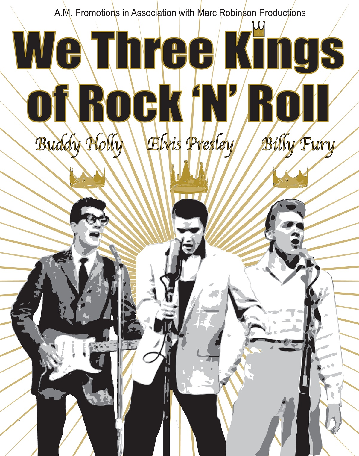 We Three Kings of Rock N Roll