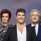 Chorley Citizen: The X Factor's Dermot O'Leary, Sharon Osbourne, Simon Cowell, Louis Walsh and Nicole Scherzinger (Syco/Thames)