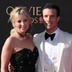 Chorley Citizen: Carley Stenson and Danny Mac attending the Olivier Awards (Chris J Ratclife/PA)