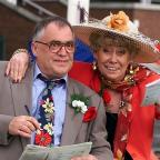 Chorley Citizen: Liz Dawn played Vera Duckworth alongside the late Bill Tarmey who played the character's husband, Jack (Phil Noble/PA)