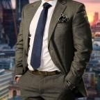 Chorley Citizen: Charles Burns, the Radcliffe candidate in this year's The Apprentice. PICTURE: Jim Marks/BBC/PA Wire