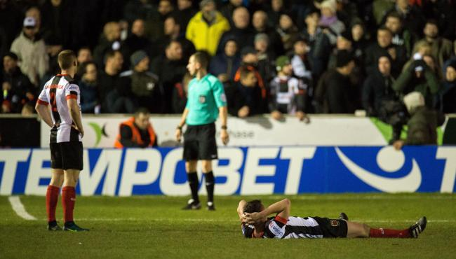 Chorley suffered a heart-breaking FA Cup exit at the hands of Fleetwood Town on Monday night