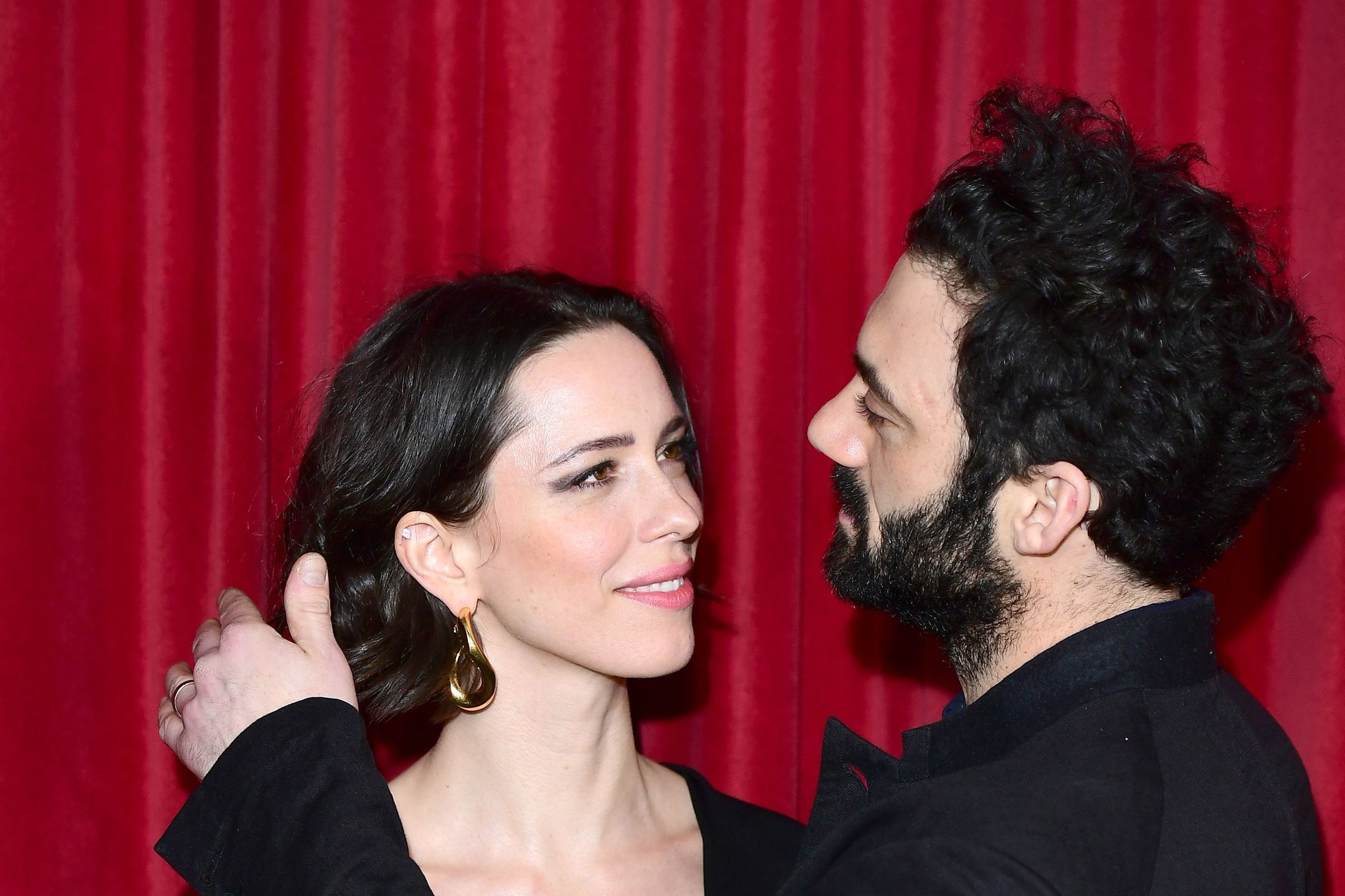 Rebecca Hall and Morgan Spector (Ian West/PA)