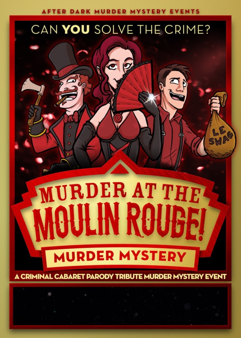 Samlesbury Hall: Murder Mystery Evening 'Murder at the Moulin Rouge'