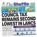 Chorley Citizen: shuttle march 2018 cover