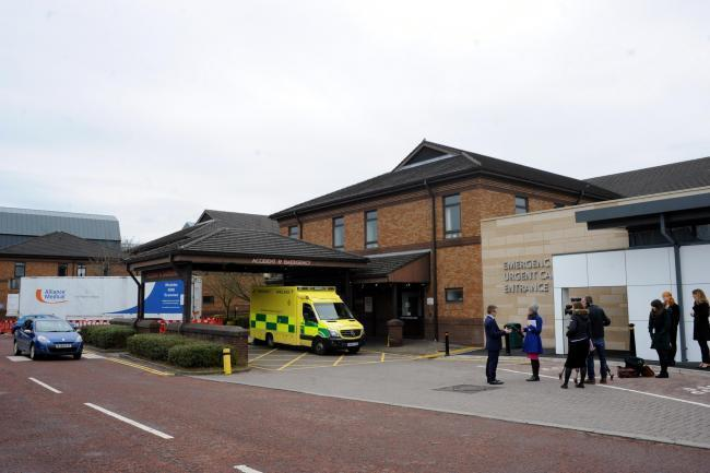 Chorley A&E department
