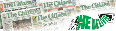 Chorley Citizen: Static HTML image