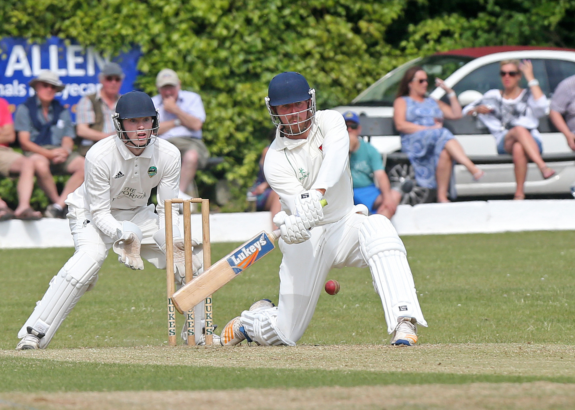 Chorley captain Andrew Holdsworth steered his side to fifth place in the Northern League and the T20 title