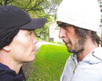 ON SET: Michael Jennings and Joe Gilgun star in Chorley: The Movie