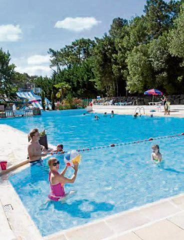 Chorley Citizen: SUMMER FUN The swimming pool at Siblu holiday parc Le Bois Dormant