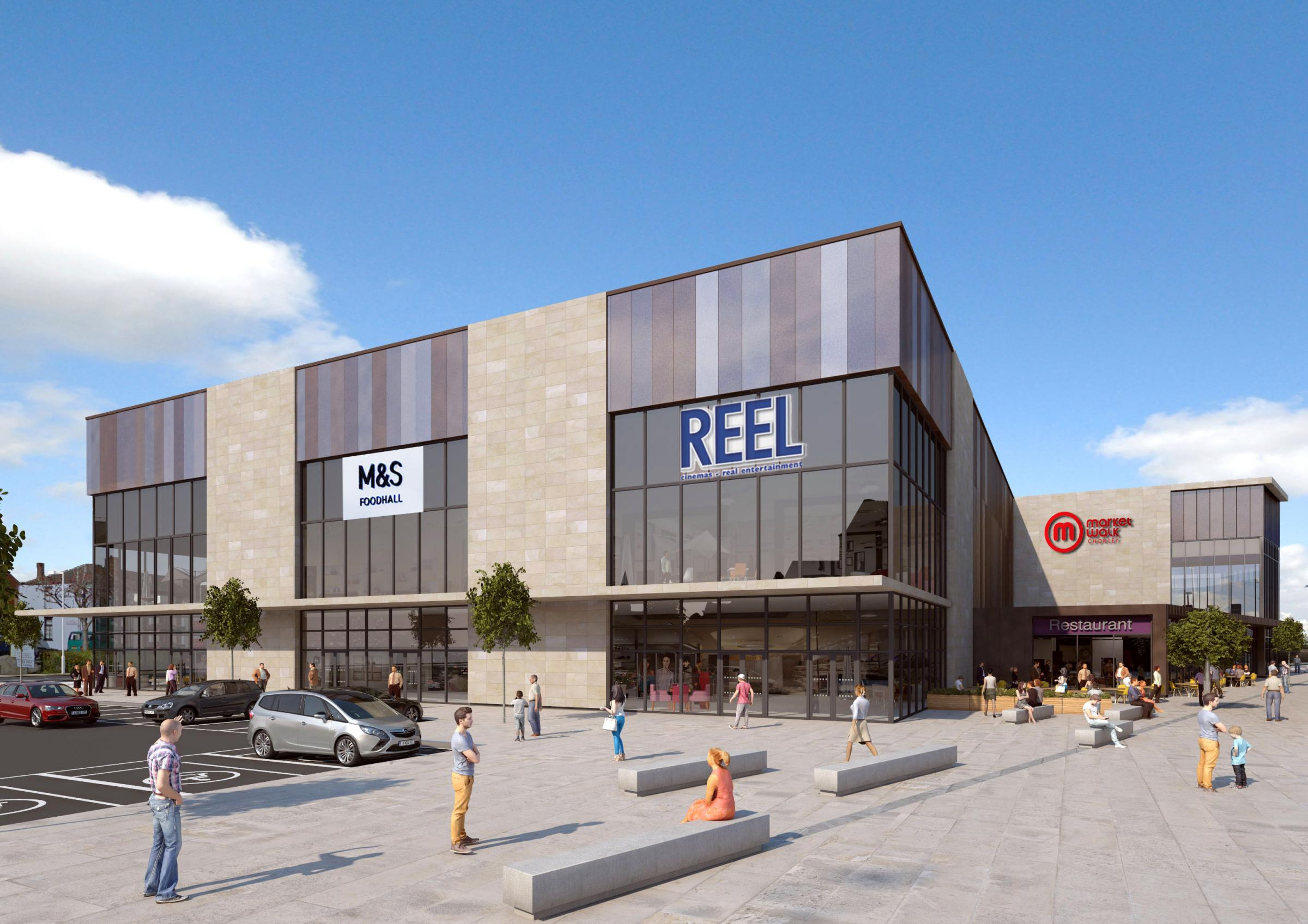 M&S speak out about their plans for foodhall in Chorley