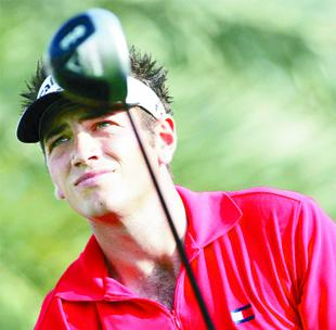 UPBEAT: Shaw Hill ace Nick Dougherty aims to rediscover his form