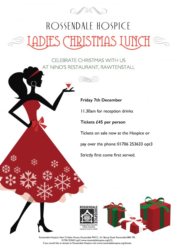 Rossendale Hospice Ladies Christmas Lunch
