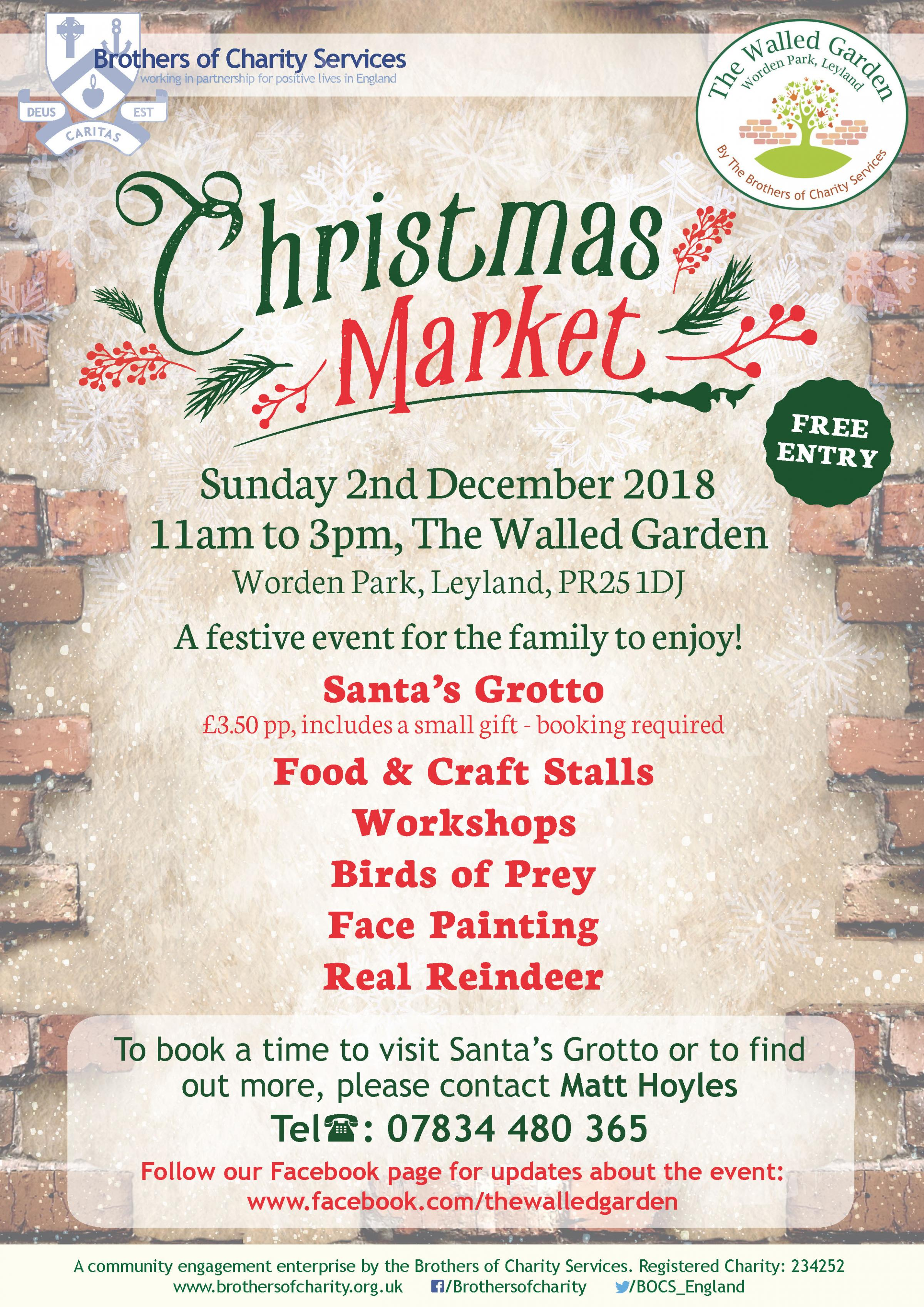 Christmas Market at The Walled Garden
