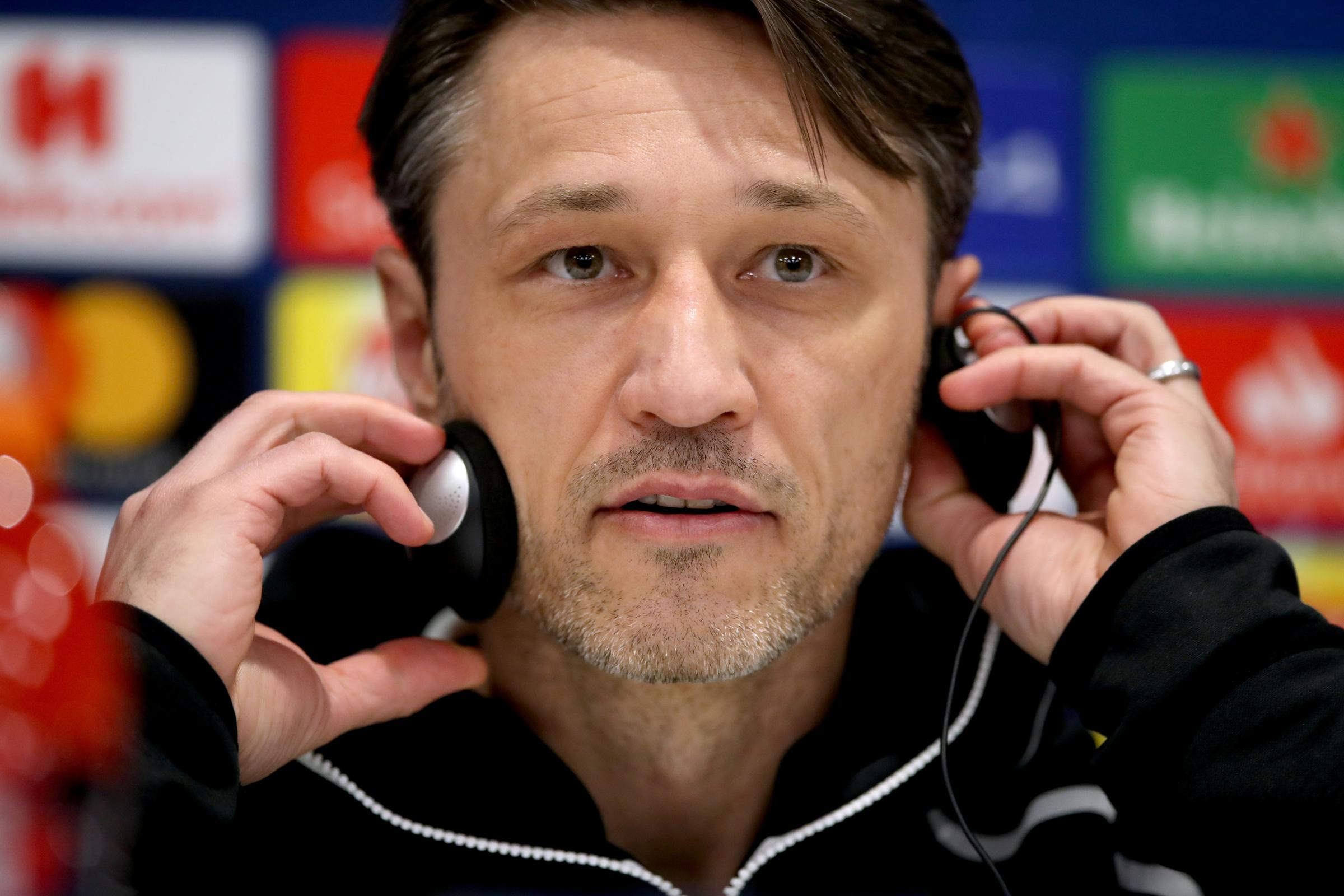 Bayern Munich manager Niko Kovac's side face Hertha Berlin in a confident mood