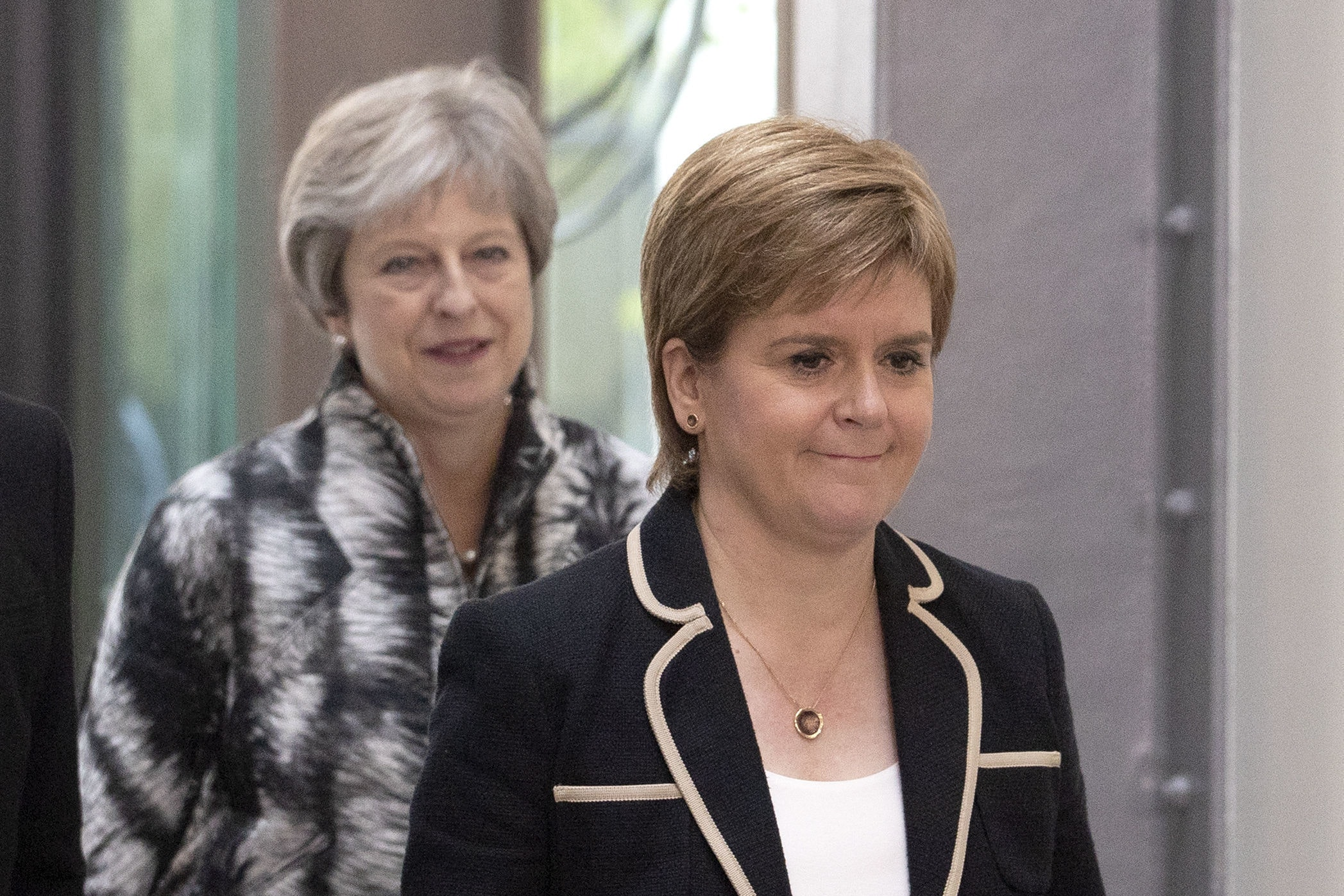 Prime Minister Theresa May and First Minister Nicola Sturgeon