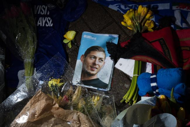Tributes at Cardiff City Stadium for Emiliano Sala
