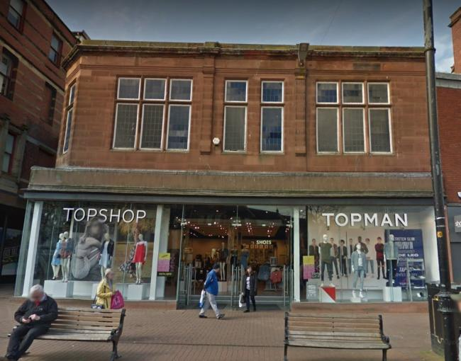 RETAIL: The Arcadia Group, owned by Sir Phillip Green, has announced plans to close some Dorothy Perkins, Burton, Topshop and Topman stores                Picture: Google Maps