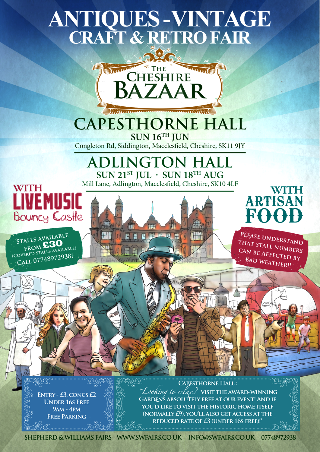 The Cheshire Bazaar: Adlington Hall