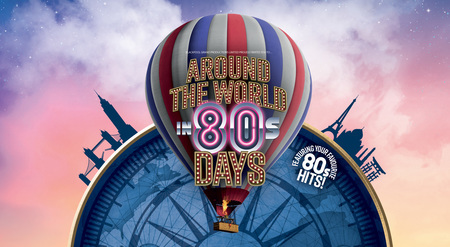 Around the World in 80s Days at Blackpool Grand Theatre August 2019
